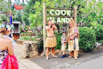 ポリネシアンセンター@ハワイ クック諸島村大人気!