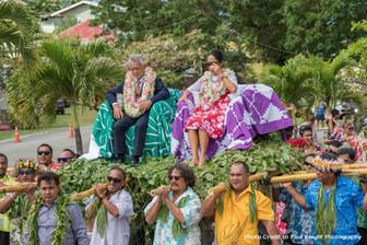 アイツタキ島でも開催!建国記念日お祝い週間のレポート