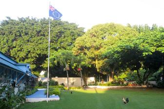 PALM8でプナ首相来日中 私は首相官邸をお散歩しました