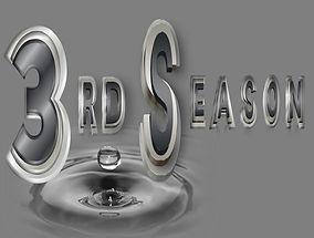 3RD Season alternative music band logo