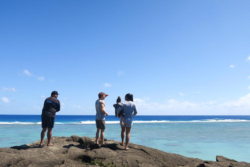 クック諸島 ラロトンガ島 ザトウクジラ