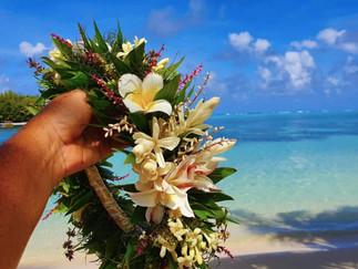島のおしゃれはお花の冠エイカツで
