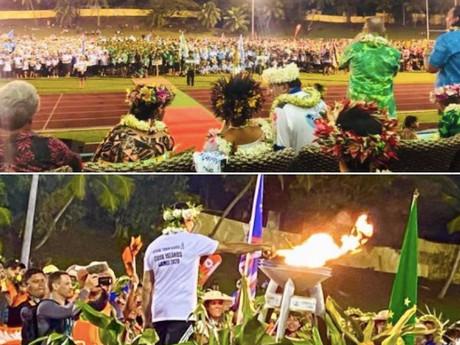 クック諸島版オリンピック開会式