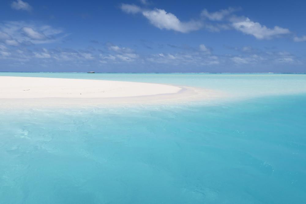 クック諸島 アイツタキ島 ワンフットアイランド ラグーンクルーズ