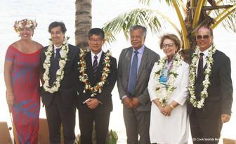 在NZ日本国小林大使訪クック 信任状を渡す儀式が行われました