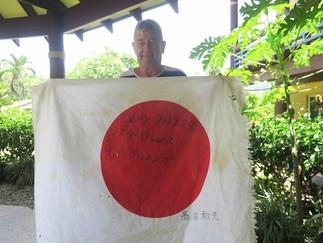 映画「戦場のメリークリスマス」 撮影隊が残した日本国旗発見