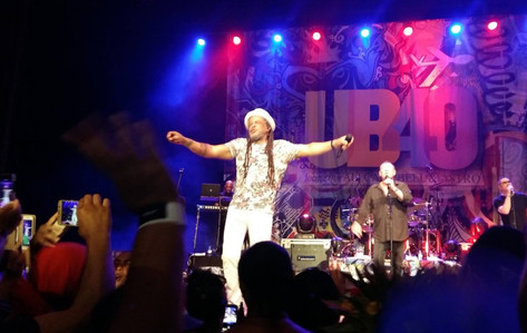 UB40島中で大歓迎 &今世紀最大コンサートが行われました