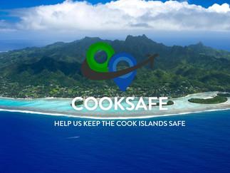 感染者ゼロの島の濃厚接触RQコードスキャンシステム CookSafe