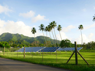 Goソーラー!  小さな国の大きな挑戦 完全エコエネルギー化を目指して