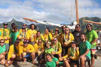 帆船Fa'afaiti ニュージーランドへ向けて出発