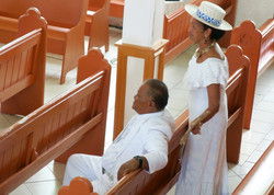 couple in church on nyd
