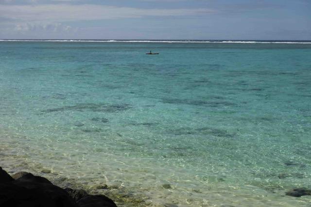 lagoon on sunny day