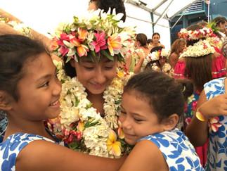 コロナの年の卒業式 島の子どもたちは元気一杯