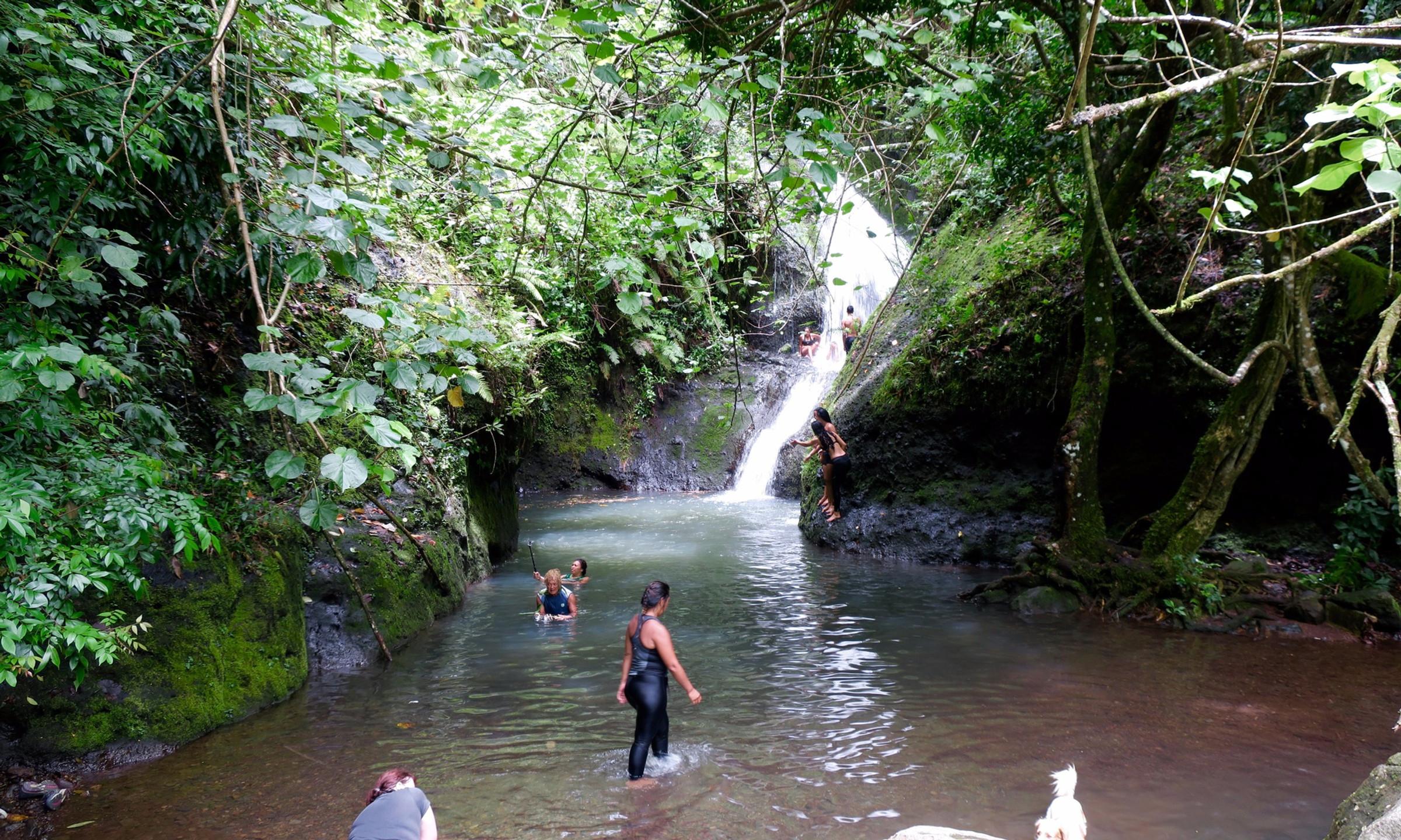 cross island trek wigmore water fall