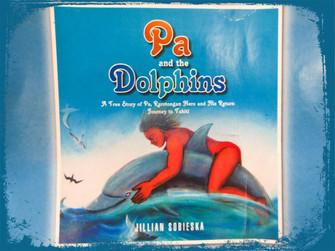 パさんの英雄伝説 タヒチ島まで22km遠泳&途中でイルカに助けられる