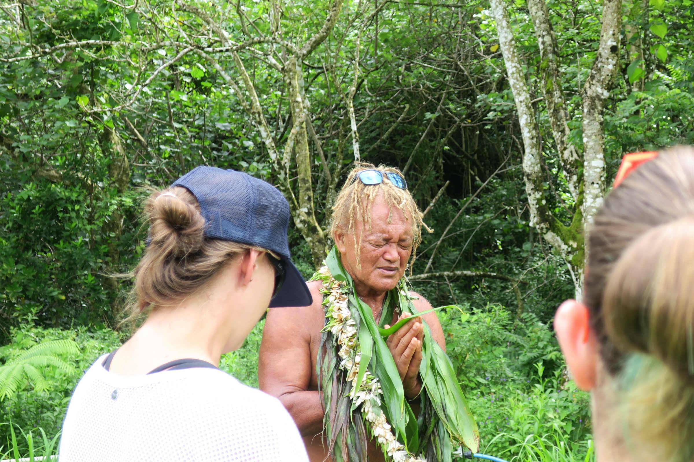 cross island trek prayer for safe journey