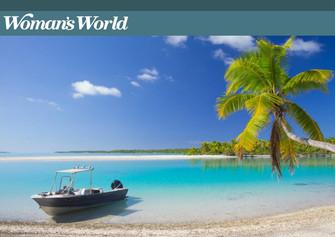 【メディア掲載】アイツタキ島世界のトップ15にノミネート by Woman's World