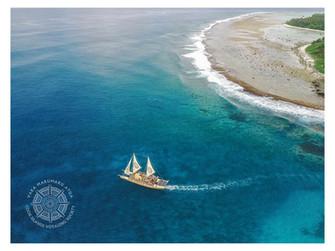 悲しいお知らせ 国唯一残ったポリネシア伝統的帆船燃える