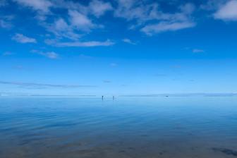 ムリビーチの平和な週末 ラロトンガ島の海水温度情報