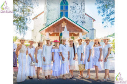 Miss-Cook-Islands-contestancts-in-front-of-Avarua-Church