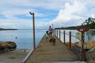 クック諸島に届く日本の支援 草の根無償資金で桟橋完成