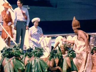 ラロトンガ空港開港47年 エリザベス女王が行った開港式典