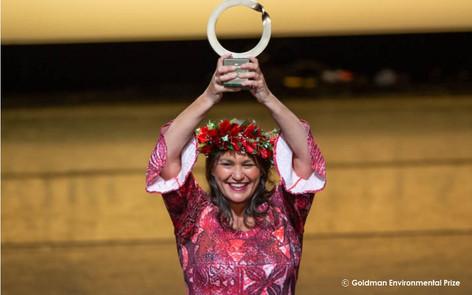 海洋保護区マラエモアナの発起者 ゴールドマン環境賞受賞