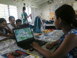 子どもが常に主役 クック諸島の学校生活