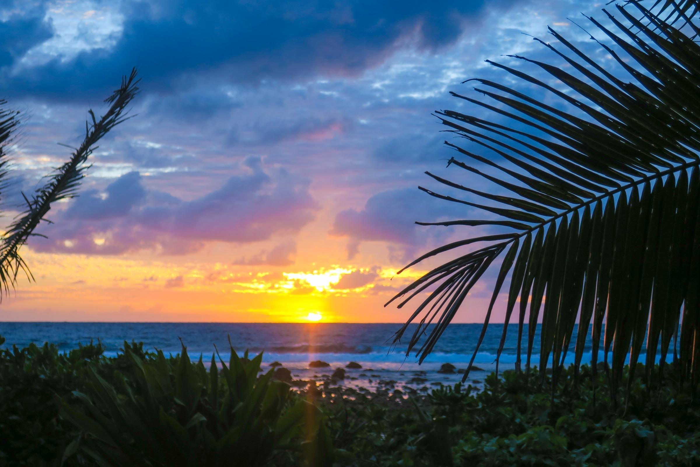 sunrise may