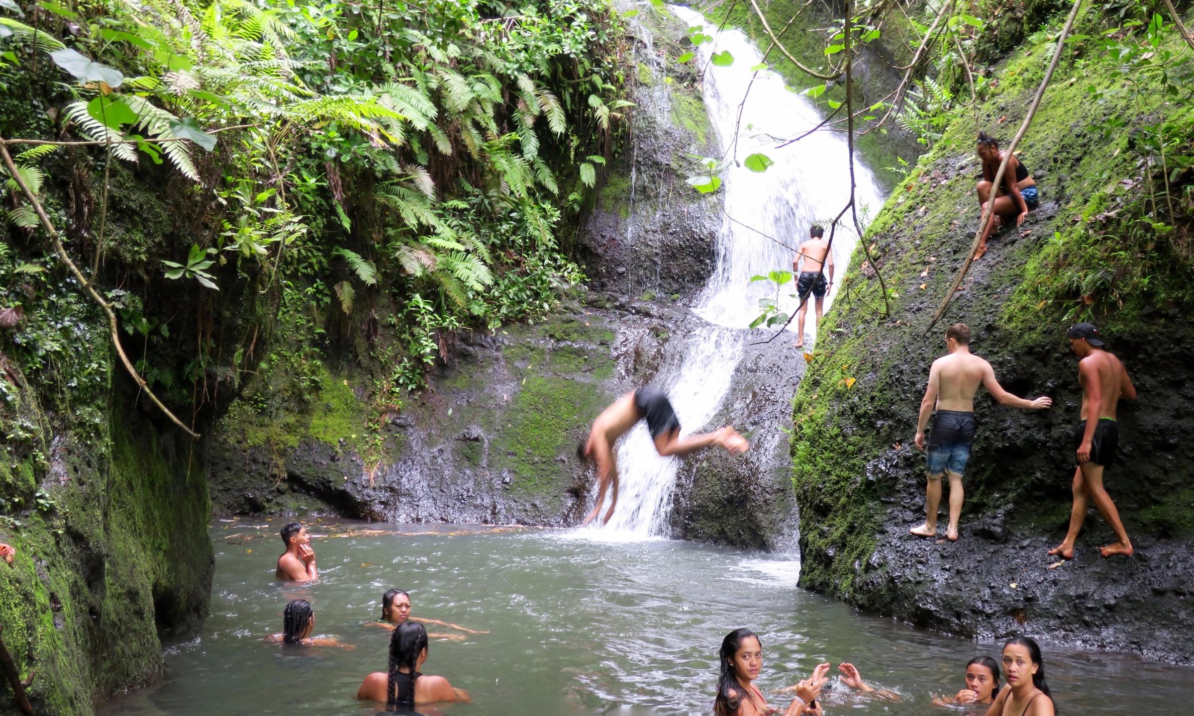 cross island trek wigmore water fall 2
