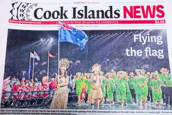 コモンウェルス大会開会式 ベストドレス賞は島の誇り