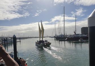 帆船マルマルアトゥア号 ラロトンガに向けて出航