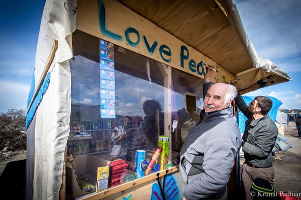 CHARITY Care4Calais listed on the   website of 3RD Season's humanitarian efforts page.