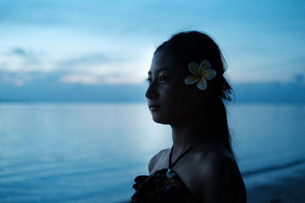 クック諸島 ラロトンガ島 海