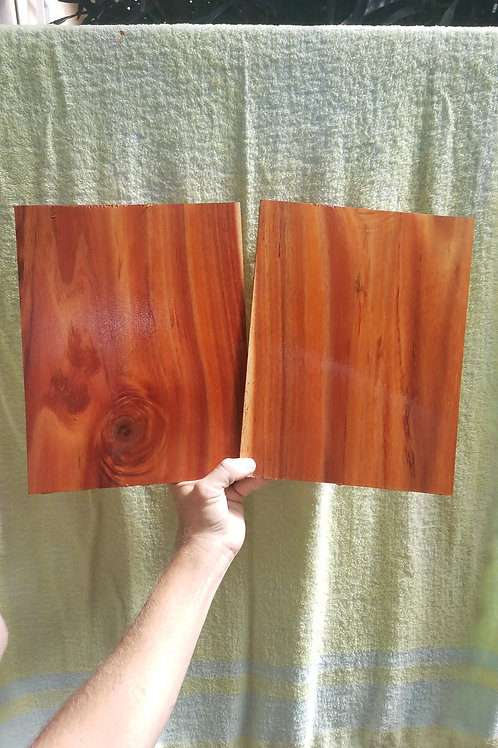 Straight grain Koa pair (.26)