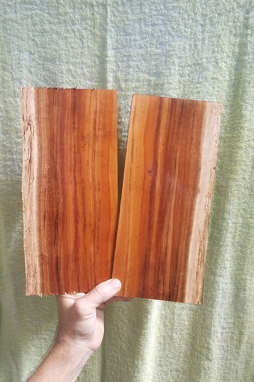 Straight Grain Koa pair (.13)