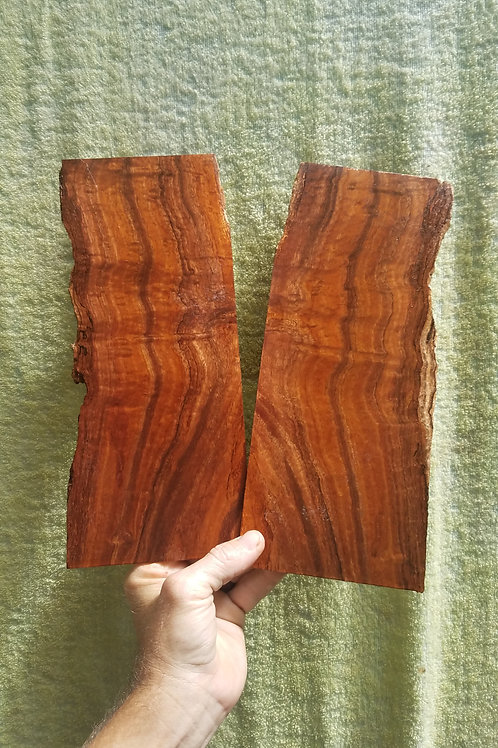 Figured Curly Koa pair (.13)