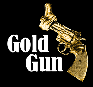 Logo for myTrueSound's GoldGun audiogame