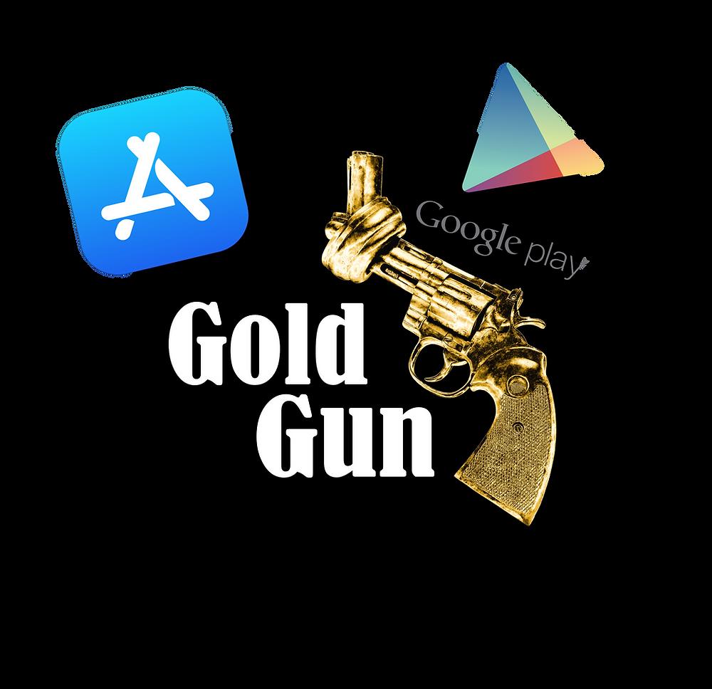 GoldGun, App Store, Google Play