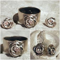 Rose in Silber: CHF 150.-