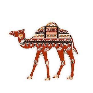 Hijazi Camel Pin