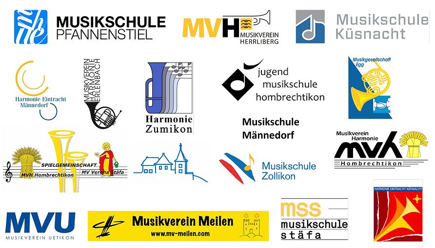 Logos mit EGG und mit Männedorf auf weis
