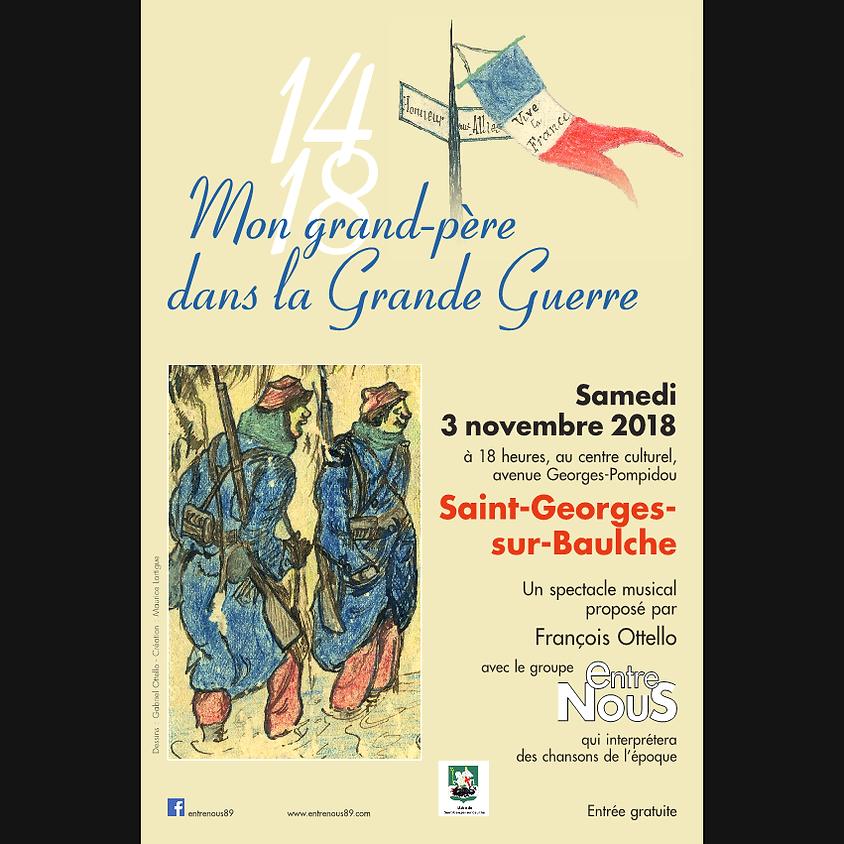 ST GEORGES SUR BAULCHE Évocation de la Grande Guerre 14-18 (1)