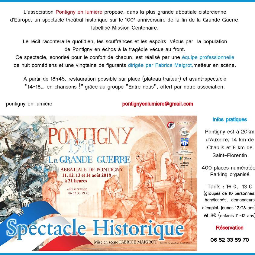 Pontigny 1918 - La grande Guerre (2)