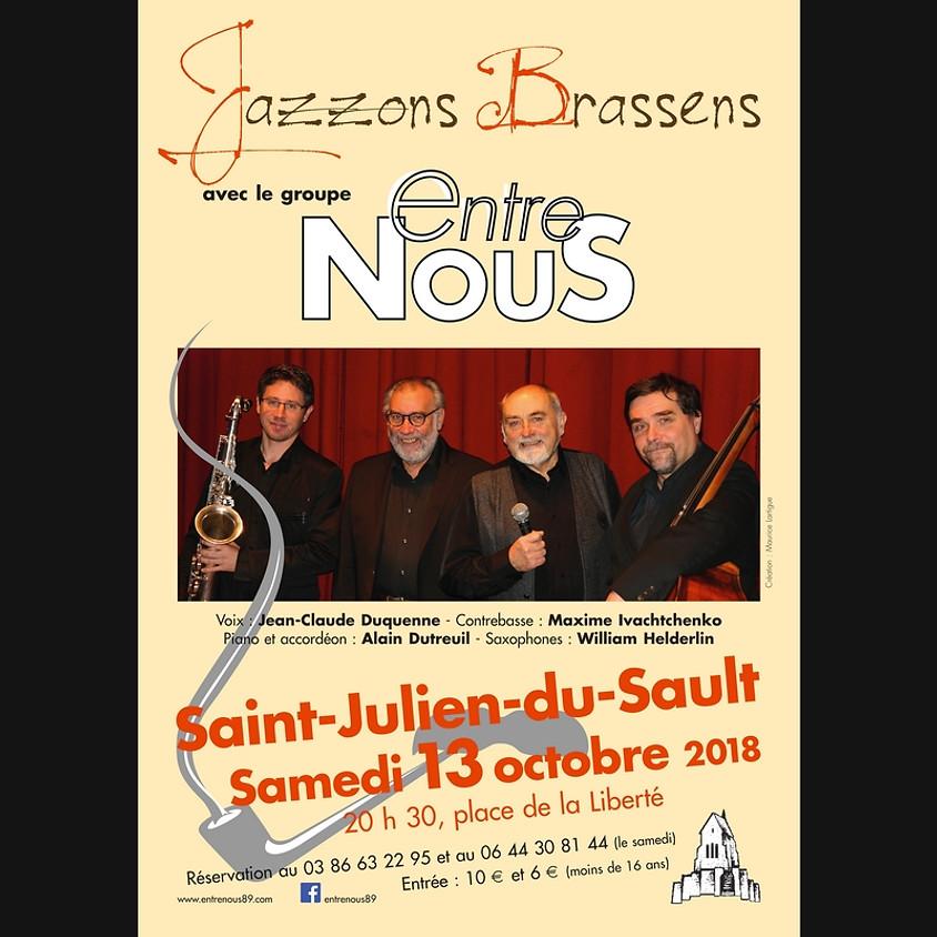 """ST JULIEN """"Jazzons Brassens"""""""