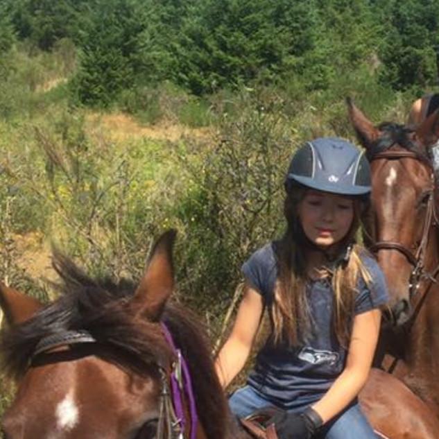 Fiesta on a trail ride