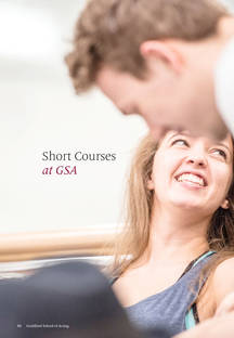 The Guildford School of Acting | Prospectus