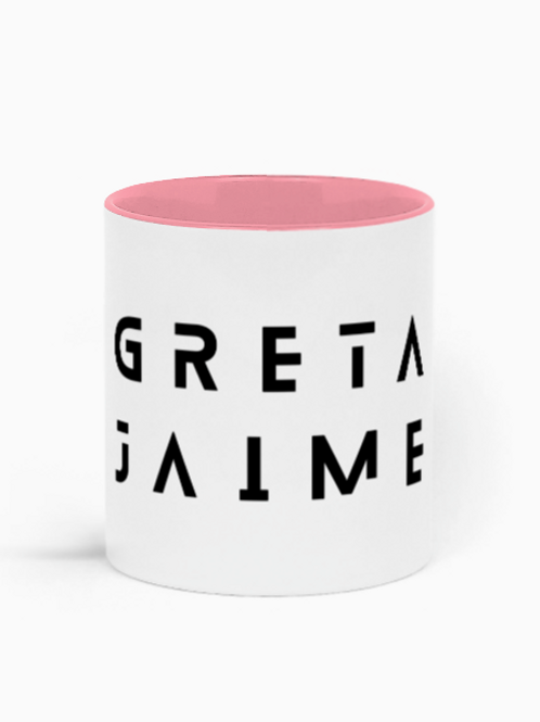Greta Jaime Two-Toned Mug