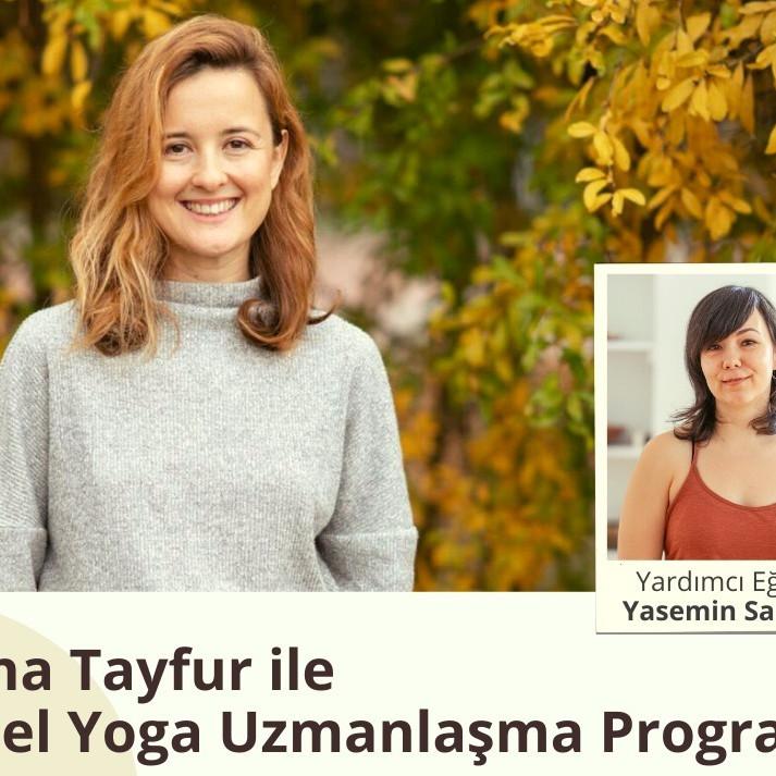 Yelina Tayfur ile 200 Saat Yoga Uzmanlaşma Programı