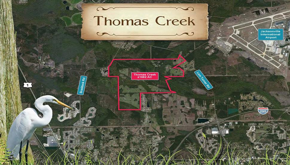 Thomas Creek (Lem Turner Road)